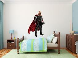 Thor Superheroe Marvel Wall Decal Decor For Kids Childs Car