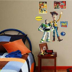 Toy Story  WOODY stickups MURAL Disney decal 4 wall stickers