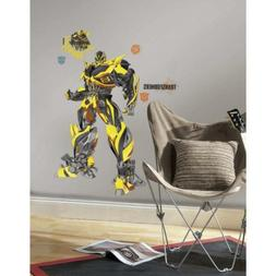 RoomMates Transformers: Age of Extinction Bumblebee Peel and