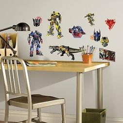 Age of Extinction Peel and Stick Wall Decals RoomMates Transformers