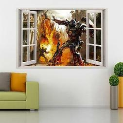 Transformers Optimus Prime 3D Window Decal Wall Sticker Home
