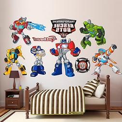 Fathead Transformers Rescue Bots Collection Vinyl Decals