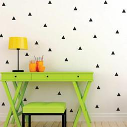triangle removable diy wall decals kids home