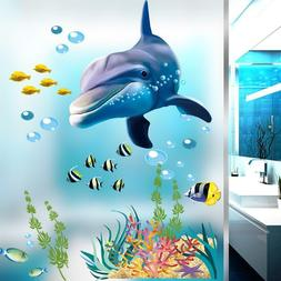 Underwater Sea Fish Shark Bubble Wall Stickers For Kids Room