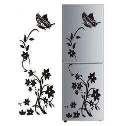 US 3D Flower Mural Refrigerator Home Wall Room Sticker Art D