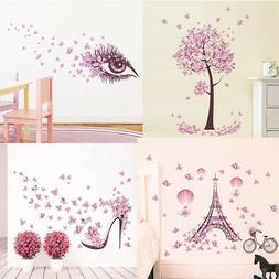Removable Butterfly Decals Vinyl Art Mural Wall Sticker Kids