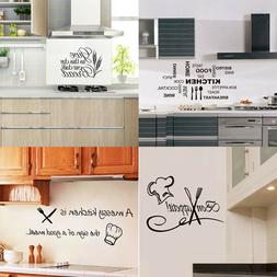 Vinyl Kitchen Wall Decal Rules Room Decor Art Quote Stickers