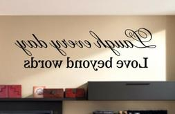 vinyl wall quotes decals art live every