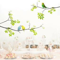 Vivid Wall Decals Birds on Tree Peel and Stick Fresh Removab