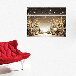 Wall Christmas Tree Sticker Living Room Wall Decals DIY Wall
