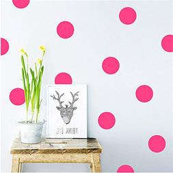 Dolland Wall Decal Dots  | Easy to Peel Easy to Stick + Safe