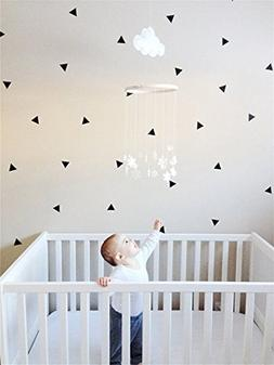 "Wall Decal Dots Wall Stickers(40 pcs,2"")Polka Dot Circle"