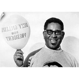 Wall Decal entitled Dizzy Gillespie , American musician