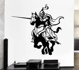 V-studios Wall Decal Knight Armor Medieval Knight Duel Tourn
