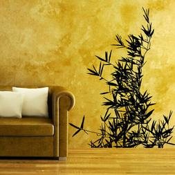 Wall Decal Leaves Nature Plants Flower Branch Trees Foliage