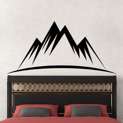 Wall Decal Mountain Decals Nursery Room Decor Sticker Bedroo