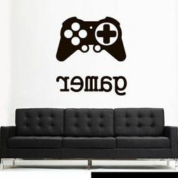 Wall Decal Vinyl Sticker Gaming Time Xbox 360 Ps3 Controller