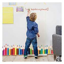 Wall Decals For Classroom - Colorful Crayons Vinyl Wall Stic