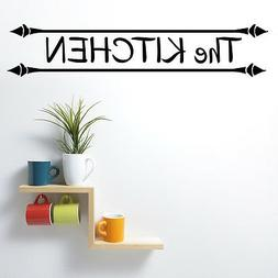 Wall Decals Quotes - The Kitchen Quote Decal Wall Vinyl Stic