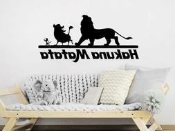 Wall Decals Quotes Vinyl Sticker Decal Nursery Hakuna Matata