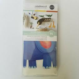 RoomMates Wall Decals Safari Jungle 29 Stickers Elephant Lio