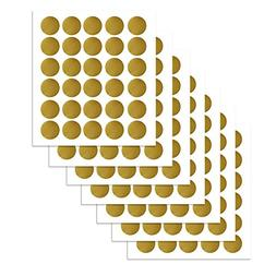 PARLAIM Wall Decor Stickers(210 Decals), Metallic Gold P
