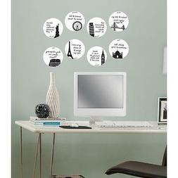 Wall Pops Dry Erase Weekly Calendar 8 dots - holiday travel
