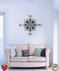 Wall Sticker Compass Marine Ocean Great Decor For Living Roo