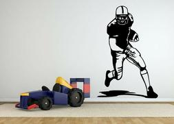 wall sticker football player game sport vinyl