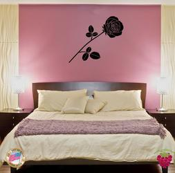 Wall Sticker Rose Flower Floral Decor for Your Bedroom