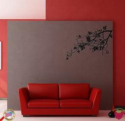 Wall Sticker Tree Branch Floral Cool Modern Decor for Bedroo