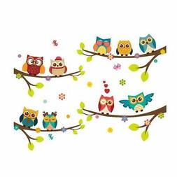 Wall Stickers Of Tree Owls Wall Decals For Kids Rooms Nurser