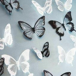 Wall Stickers Summer Spring Room Decorations Butterflies For
