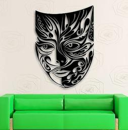 Wall Stickers Vinyl Decal Comedy Tragedy Mask Theater Emotio