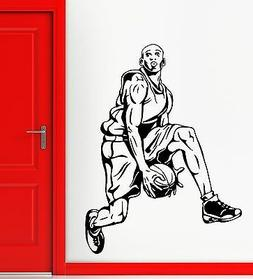 Wall Stickers Vinyl Decal Sports Basketball Player for Fans