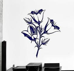 Wall Vinyl Decal Flower Beauty Floral Nature Amazing Decor F