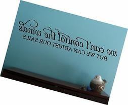 Wall Decor Plus More WDPM3517 We Can't Control the Wind Insp