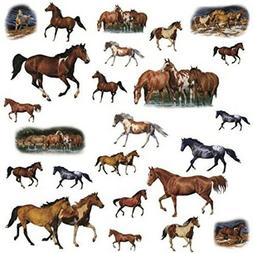 Wild Horses Peel and Stick Wall Sticker