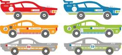Wall Pops WPD0803 Rally Racers Dots Wall Decals