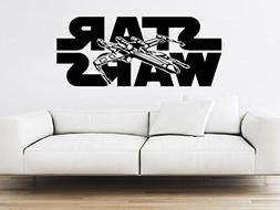 Xwing Wall Decal Vinyl Sticker Decals Star Wars Logo X-Wing